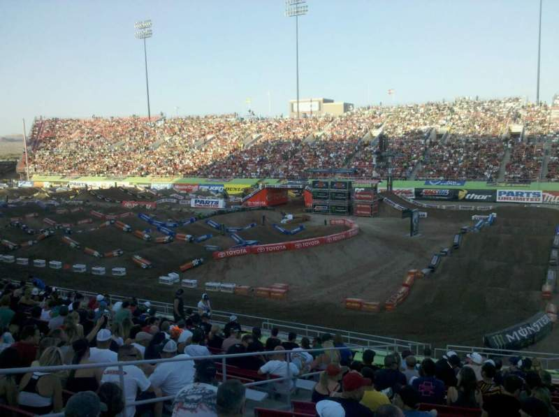 Seating view for Sam Boyd Stadium Section 123 Row 20 Seat 20