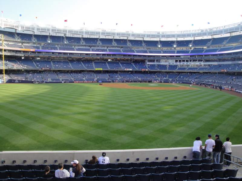 Seating view for Yankee Stadium Section 236 Row 1 Seat 10