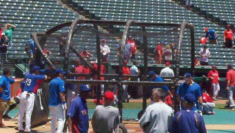 Seating view for Globe Life Park in Arlington Section 37