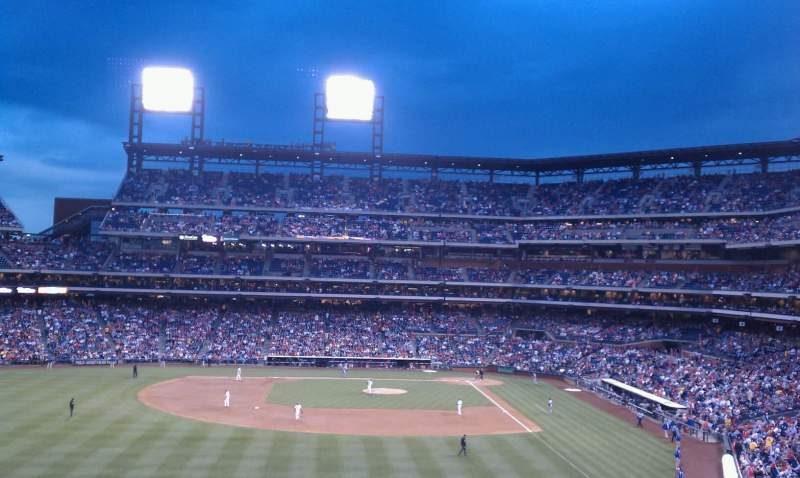 Seating view for Citizens Bank Park Section 242 Row 7 Seat 12
