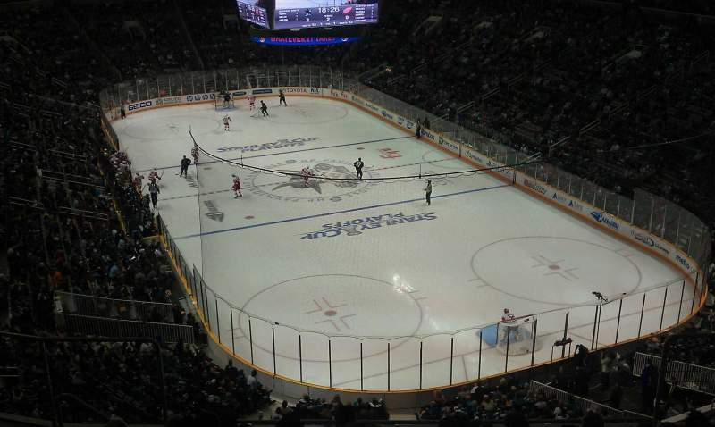 Seating view for SAP Center Section 224 Row 9 Seat 8