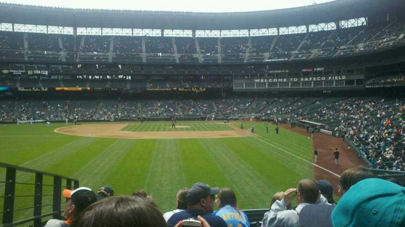 Seating view for T-Mobile Park Section 182 Row 35 Seat 9