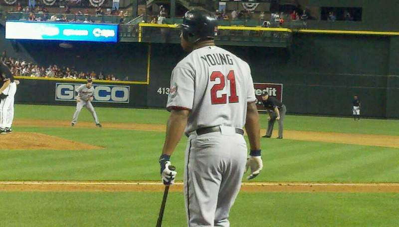 Seating view for Chase Field Section h Row b Seat 6