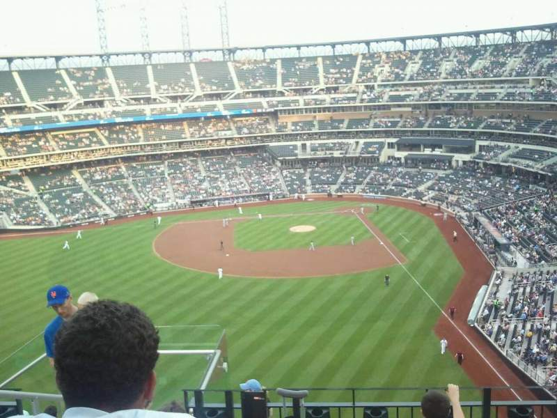Seating view for Citi Field Section 535