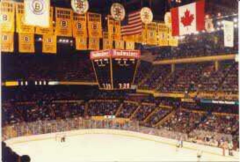 Td Garden Section Bal 314 Home Of Boston Bruins Boston Celtics Boston Blazers