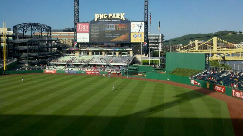 Seating view for PNC Park Section Suite 6 Row A Seat 2