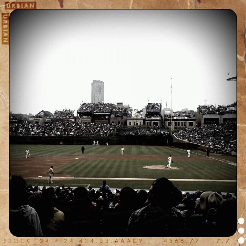 Seating view for Wrigley Field Section 11 Row 12 Seat 8