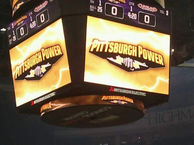 PPG Paints Arena, section: 110