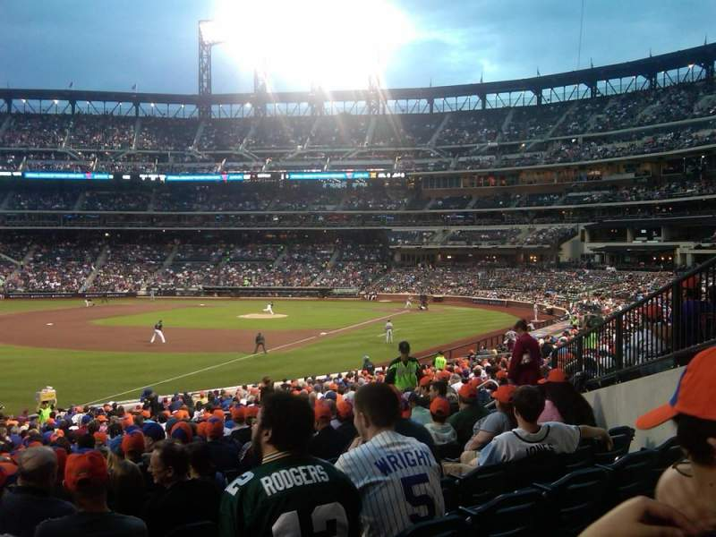 Seating view for Citi Field Section 128 Row 29 Seat 17