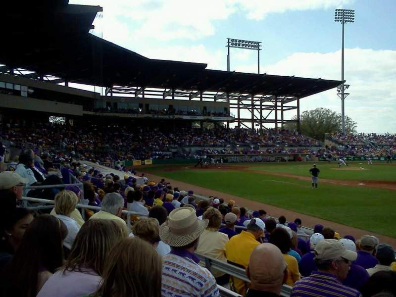 Alex Box Stadium, section: 106