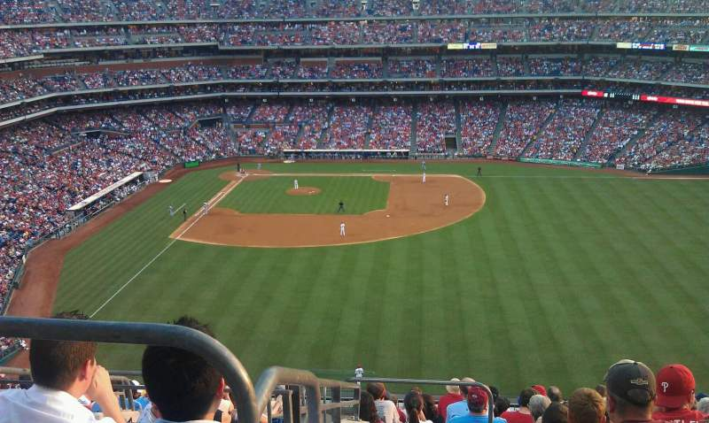 Seating view for Citizens Bank Park Section 302 Row 13 Seat 22