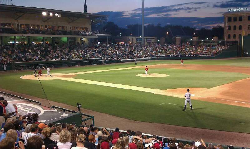 Seating view for Fluor Field
