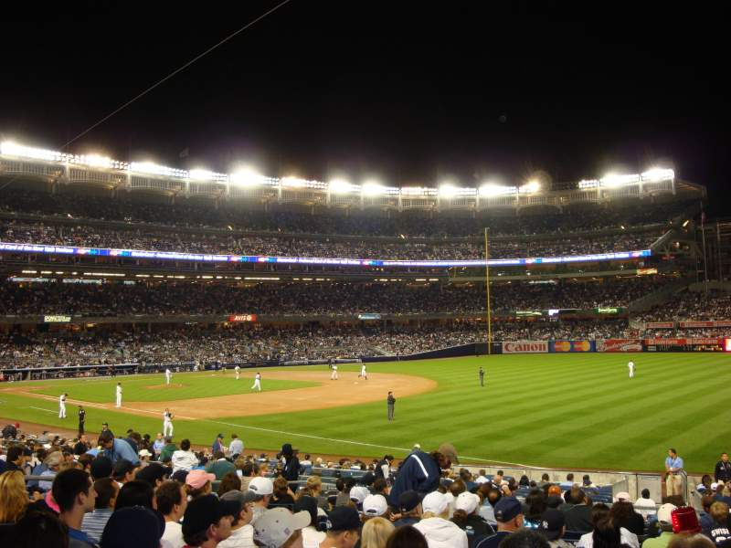 Seating view for Yankee Stadium Section 111 Row 24 Seat 5