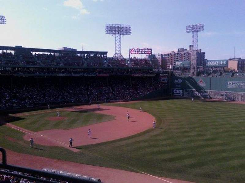Seating view for Fenway Park Section Suite R20 Seat 17