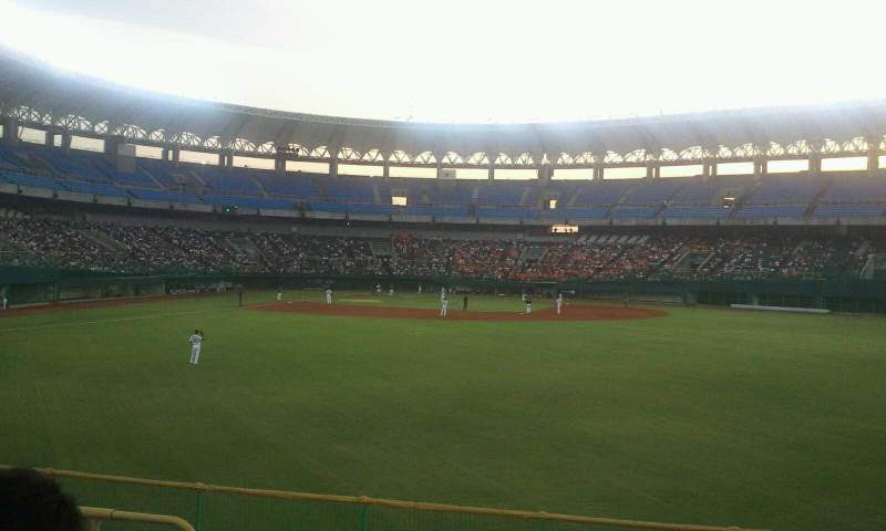 Seating view for Taichung Intercontinental Baseball Stadium
