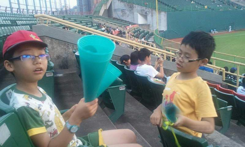 Seating view for Taichung Intercontinental Baseball Stadium Section outfield