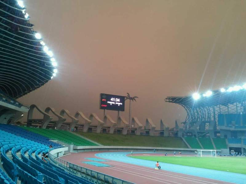 Seating view for Kaohsiung National Stadium Section outfield