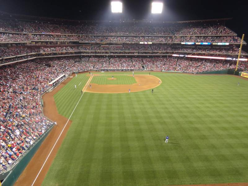 Seating view for Citizens Bank Park Section 304 Row 1 Seat 8