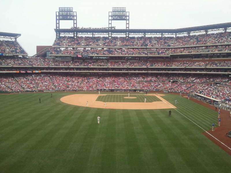 Seating view for Citizens Bank Park Section 242 Row 2 Seat 10