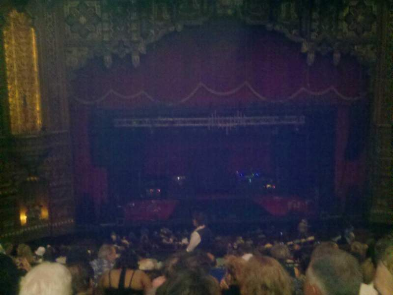 Seating view for The Fabulous Fox Theatre (St. Louis) Section ba03 Row g Seat 119