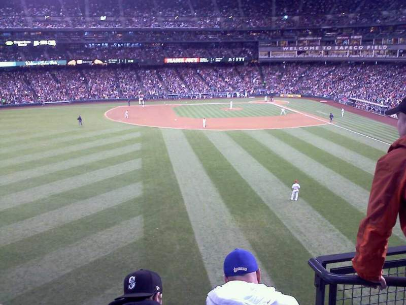 Seating view for Safeco Field Section 184 Row 3 Seat 2