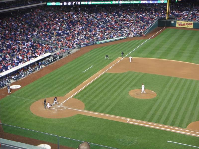 Seating view for Citizens Bank Park Section 315 Row 6 Seat 3