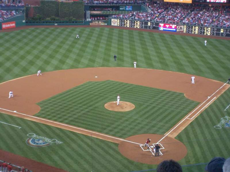 Seating view for Citizens Bank Park Section 322 Row 6 Seat 6