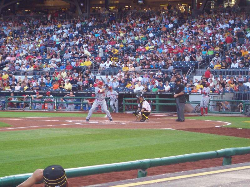 Seating view for PNC Park Section 24 Row 1