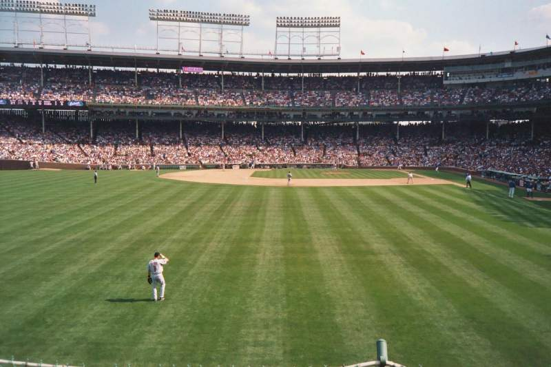Seating view for Wrigley Field Section 303 Row 2