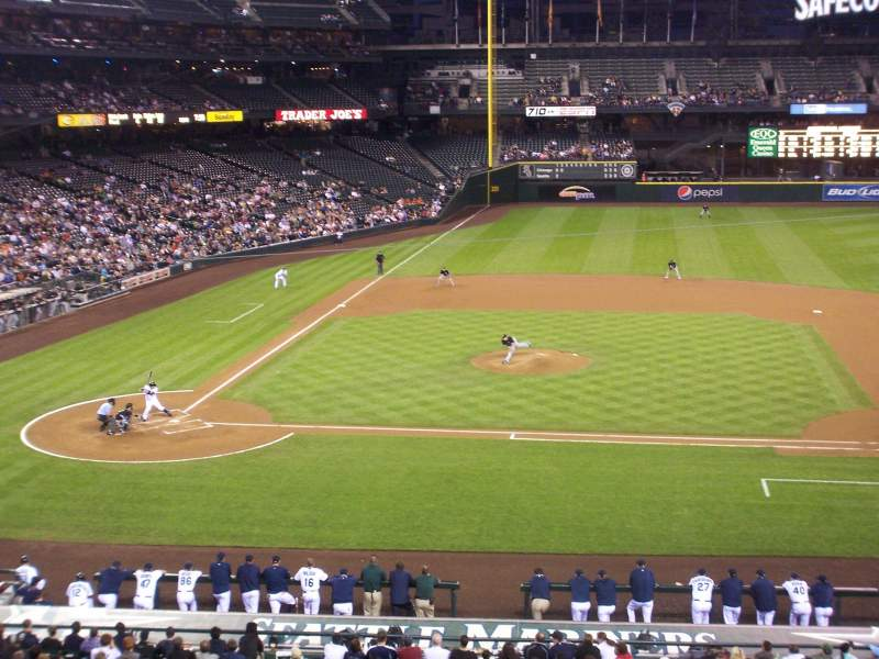 Seating view for T-Mobile Park Section 223 Row 12