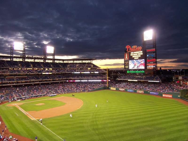 Seating view for Citizens Bank Park Section 207