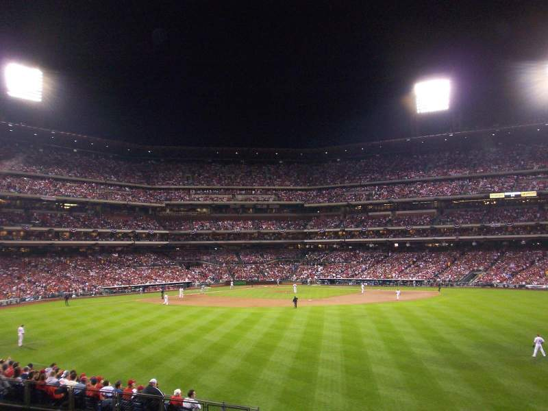 Seating view for Citizens Bank Park Section Bullpen Row 1 Seat none