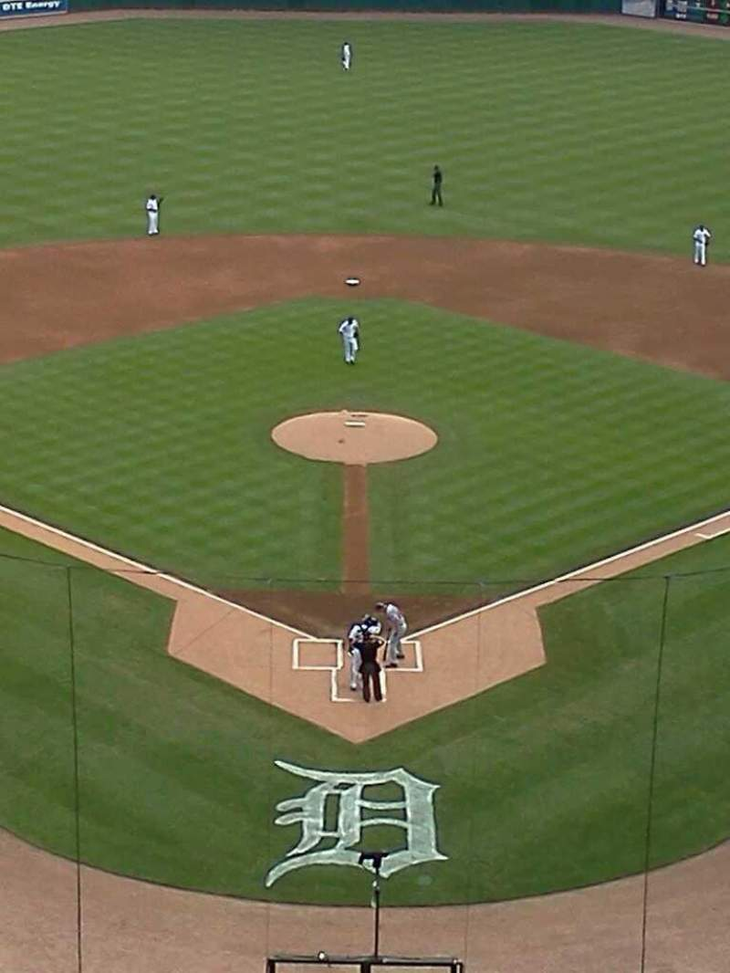 Seating view for Comerica Park Section 327 Row 5 Seat 5