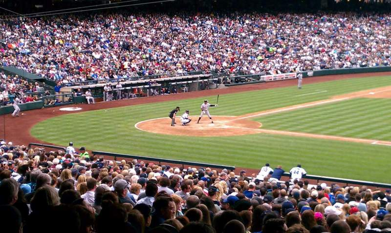 Seating view for Safeco Field Section 114 Row 40 Seat 9