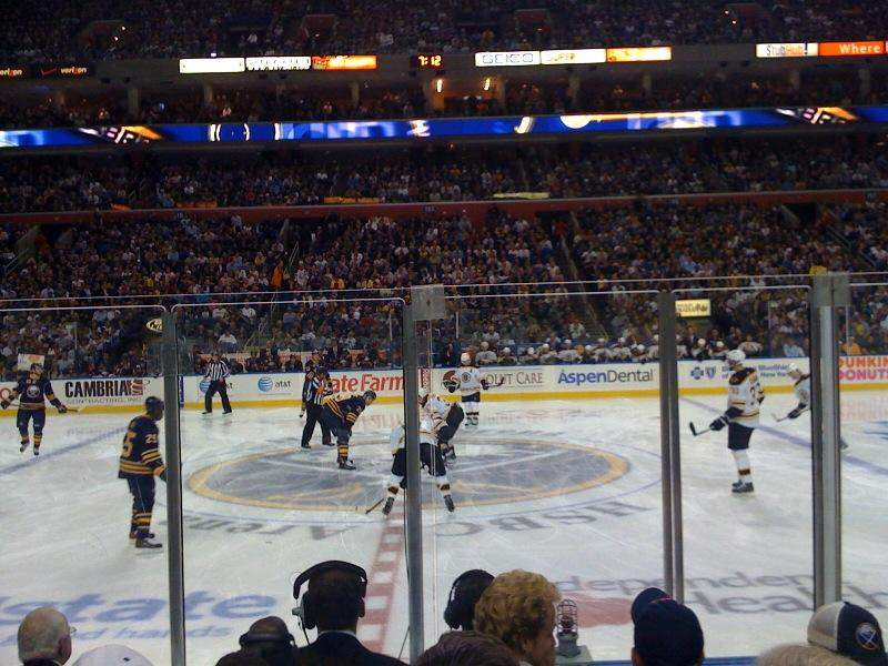 KeyBank Center, section: 117, row: 6, seat: 10