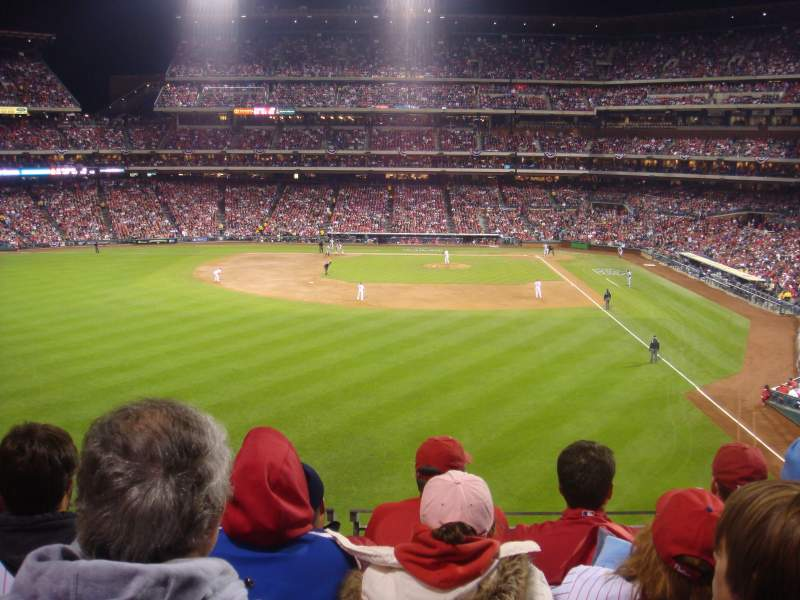 Seating view for Citizens Bank Park Section 242 Row 5 Seat 8