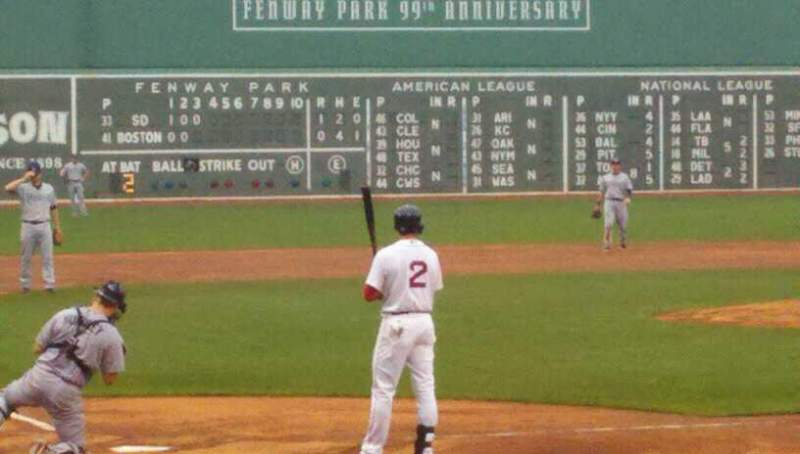 Seating view for Fenway Park Section 18-FB39 Row K Seat 6