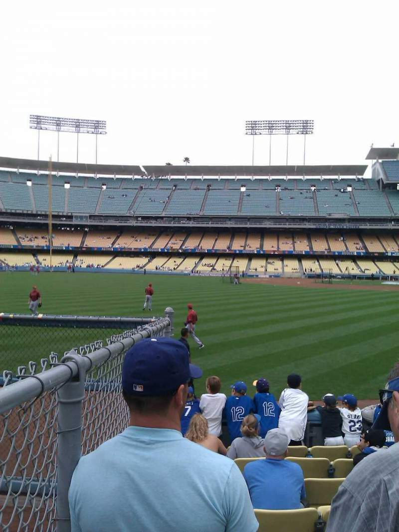Seating view for Dodger Stadium Section 53FD