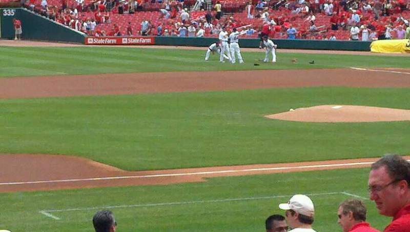Seating view for Busch Stadium Section 158 Row 10 Seat 9