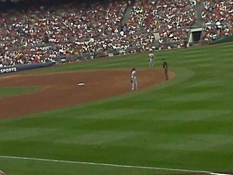 Seating view for PNC Park Section 101 Row R Seat 6