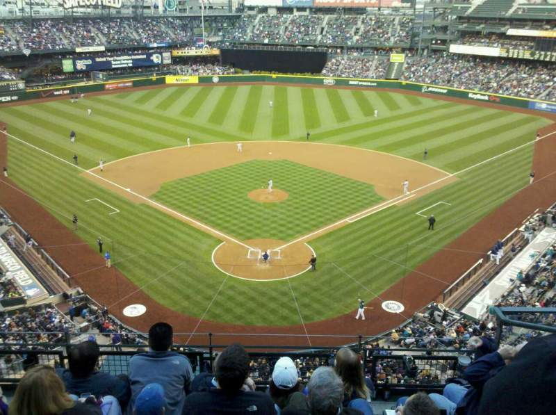 Seating view for T-Mobile Park Section 331 Row 5 Seat 3