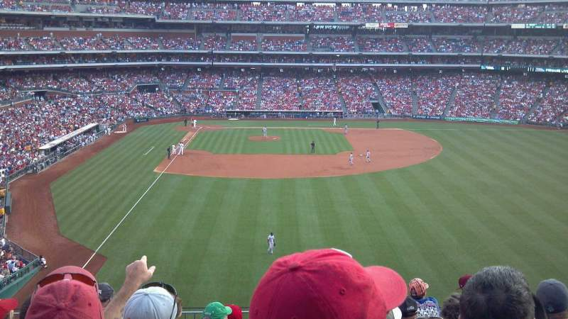 Seating view for Citizens Bank Park Section 204 Row 8 Seat 14