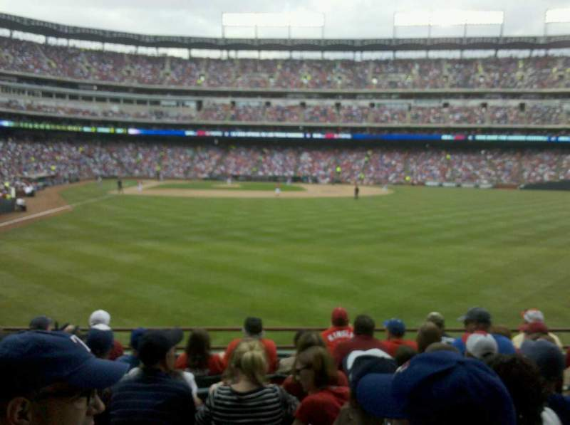 Seating view for Globe Life Park in Arlington Section 45 Row 8 Seat 7