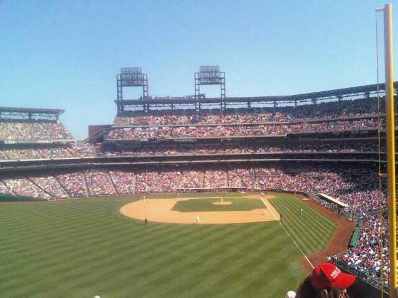 Seating view for Citizens Bank Park Section Harry the K's Row 1