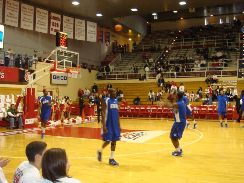 Carnesecca Arena, section: 3, row: CC, seat: 20