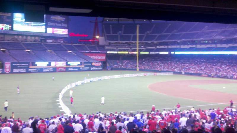 Seating view for Angel Stadium Section T207 Row j Seat 14
