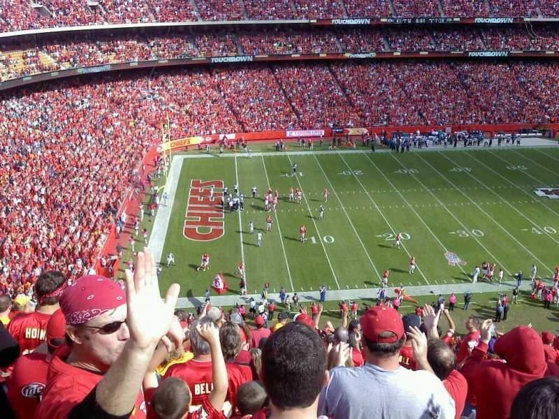 Seating view for Arrowhead Stadium Section 330