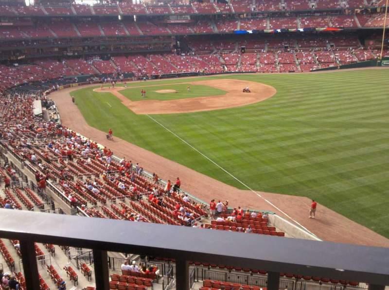 Busch Stadium, section: 232, row: 1, seat: 21