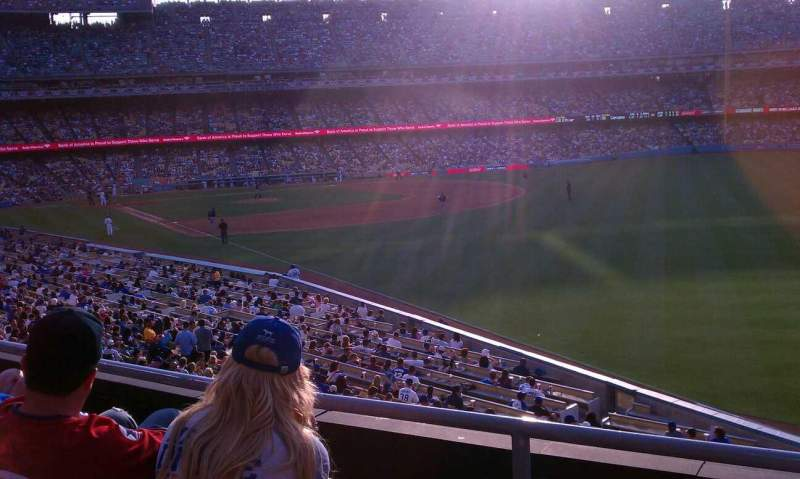 Seating view for Dodger Stadium Section 162LG Row C Seat 1