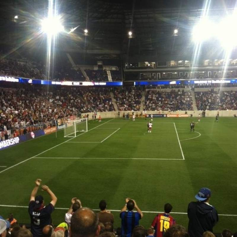 Seating view for Red Bull Arena (New Jersey) Section 128 Row 14 Seat 16